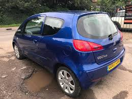 used 2007 mitsubishi colt 1 1 blue 3dr for sale in berkshire