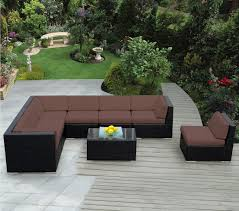 Teak Sectional Patio Furniture - exterior interesting smith and hawken patio furniture for