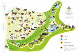 Zoo Floor Plan Lietuvos Zoologijos Sodas Lithuanian Zoo