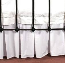Pleated Valance Yves Delorme Box Pleated Valance Blanc Sleeping Partners