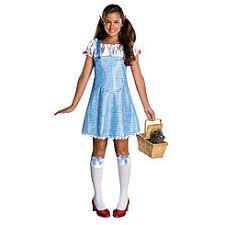 Size Dorothy Halloween Costume Size Teen Halloween Costumes Sears