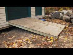 How To Build A Garden Shed Ramp by Building A Shed Ramp Shed Pinterest Sheds Shed Ramp And