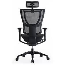 desk chair with headrest eurotech ioo ergonomic chair headrest staples