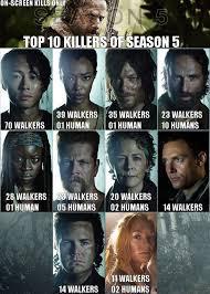 Walking Dead Memes Season 5 - the walking dead infographs walking dead norman and norman reedus