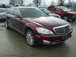mercedes 2007 s550 for sale auto auction ended on vin wddng71x77a058512 2007 mercedes