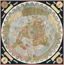 North Pole Map North Pole Perspective Map Of The World From 1587 Story In