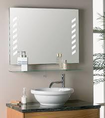 Glass Bathroom Shelves Vibrant Design Mirror Shelves Bathroom With Shelf For 97 Side