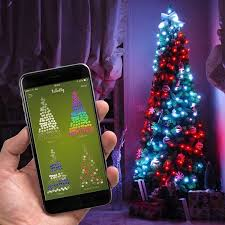 twinkly app controlled lights set of 100 lights