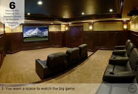 6 reasons why finishing your basement should be your next