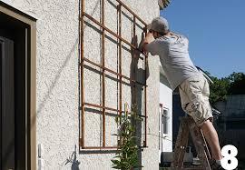 backyard design progress trellis screen door project