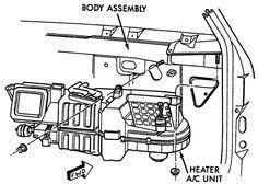 dodge ram heater replacement 1998 dodge ram truck ram 1500 5 2l mfi 8cyl repair guides