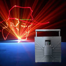 outdoor 6w rgb animation laser light projector for nightclub and