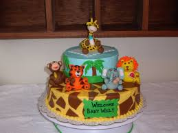 jungle baby shower cakes baby shower cakes ideas custom cakes by jungle animals