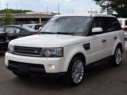 land rover white black rims used 2010 land rover range rover sport hse lux at saugus auto mall