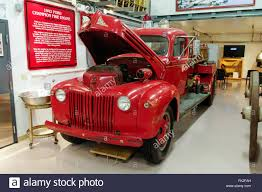 Classic Ford Truck Frames - 1942 ford champion fire engine built on a ford truck chassis by w