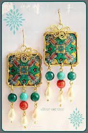 plastic bottle earrings amazing recycled plastic bottle jewelry by silver nut tree