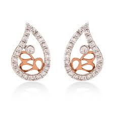diamond earrings online crossover diamond earrings online shopping in tamilnadu jeweldaze