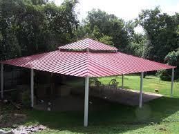 Covered Patio San Antonio by All Steel Custom Pavilion West San Antonio