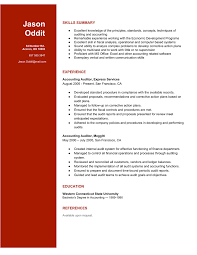 Senior It Auditor Resume Sample Auditor Resume Resume For Your Job Application