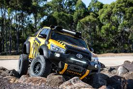concept off road truck toyota hilux tonka concept revealed as off roader