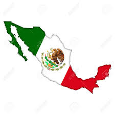 Mexican Flag Cartoon Mexico Flag Map Icon Stock Photo Picture And Royalty Free Image