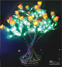 decorative led lights for home 2018 led miniature tree lights home amp comercial decoration