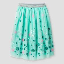teal tulle tulle midi skirt with sequins cat aqua target