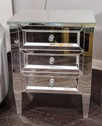 beautiful custom mirrored nightstand for sale at 1stdibs