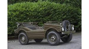 old military jeep 1957 porsche military vehicle has never seen the battlefield goes