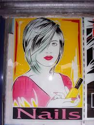 nail salon window graphic knockoff nagel u0027s pinterest