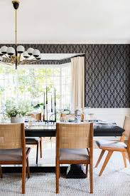 yellow dining rooms griffith park formal dining room reveal emily henderson