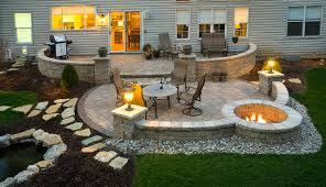 Backyard Paver Patios Paver Patio Contemporary Exterior Cincinnati By
