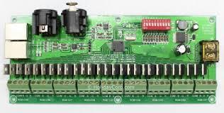 27 channel dmx controller decoder for rgb lights 12v dc