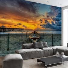 online get cheap textured walls aliexpress com alibaba group beach sunset high quality 3d mural wall paper for living room bedroom wall art decor custom any size textured wallpapers