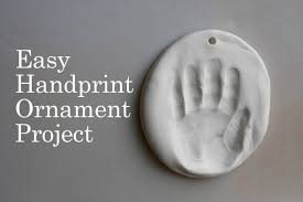 easy handprint ornament project the creative