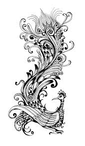 phoenixtattoo abstract tattoo design art flash pictures images