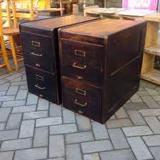 Antique Wood File Cabinet by Bright Wooden Filing Cabinet Vintage 79 Ebay Vintage Wooden Filing