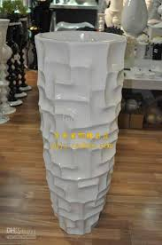 large floor vase modern fashion flower brief derlook flower