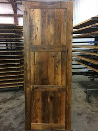 3 Panel Exterior Door Wooden Interior Exterior Doors Enterprise Wood Products