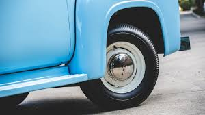 Classic Ford Truck Tires - 1956 ford f100 panel truck