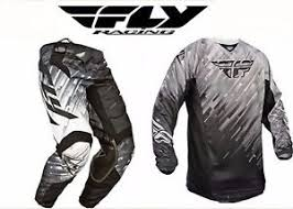 motocross pants and jersey combo fly racing motocross pants jersey combo new 36 xl black grey