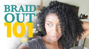 hair growth with wet set hairstyle how to braid out method 101 natural hair youtube