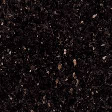 Black Granite Kitchen Countertops by Black Galaxy Granite Am Stoked About This With Our Copper Sink