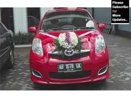 How To Decorate A Wedding Car With Flowers Simple Wedding Car Flowers Decor Pictures Ideas For Vehicle