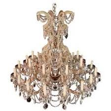 Vintage Chandelier For Sale Italian Eight Light Maria Theresa Style Vintage Crystal Chandelier