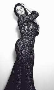 long black lace plus size dress fashion dresses