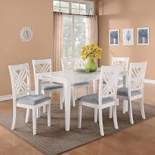 Dining Table And Six Chairs White Dining Room Tables Interesting Dining Room Furniture White
