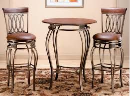 Indoor Bistro Table And 2 Chairs Hillsdale Montello 3 Bistro Set