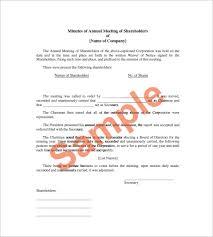 corporate meeting minutes templates u2013 12 free sample example
