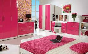 surprising teen bedroom sets with modern bed wardrobe pink and white furniture for bedroom